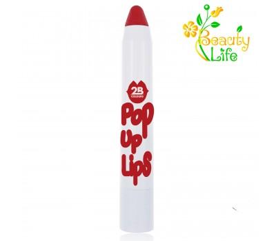 2B Colours Помада-карандаш Pop Up