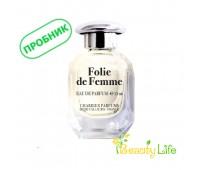 CHARRIER PARFUMS Пробник парфюмированной воды Folie de Femme 2мл