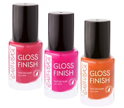Лак для ногтей Gloss Finish Art-Visage
