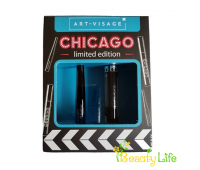 Art-Visage Набор тушь для ресниц Chicago + жидкая подводка черная