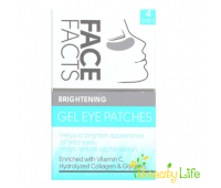 Face Facts Патчи под глаза гелевые Brightening 4 пары