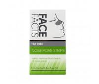Face Facts Очищающие полоски для носа Tea Tree 6шт