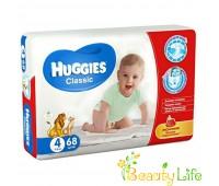 Huggies Подгузники Classic 4 Mega (68 шт.)