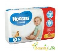 Huggies Подгузники Classic 5 Jumbo (42 шт.)
