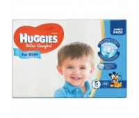 Huggies Подгузник Ultra Comfort для мальчиков №5 (42 шт.)