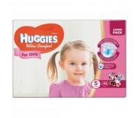 Huggies Подгузник Ultra Comfort для девочек №5 (42 шт.)