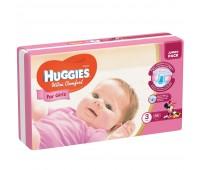 Huggies Подгузник Ultra Comfort для девочек №3 (56 шт.)
