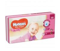Huggies Подгузник Ultra Comfort для девочек №4 (50 шт.)