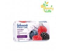 Мыло JOHNSON'S® Body Care Vita Rich Восстанавливающий с экстрактом малины (с ароматом лесных ягод).
