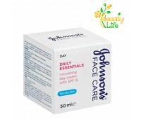Крем для сухой кожи Johnson's® Daily Essentials Дневной питательный с SPF 15