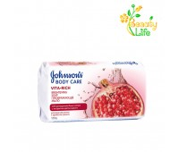 Мыло JOHNSON'S® Body Care Vita Rich Преобразующий с экстрактом граната (с ароматом граната)