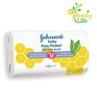 Johnson's Baby Детское мыло Pure Protect, 100г