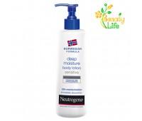 Молочко для чувствительной кожи тела Глубокое увлажнение Neutrogena  250мл