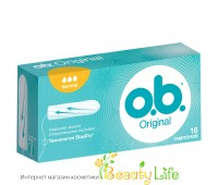Женская гигиена o.b Тампоны o.b. Original Normal 16 шт