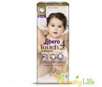 Дышащие детские подгузники Libero Touch 4 (7-11 кг), 48 шт