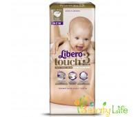 Дышащие детские подгузники Libero Touch 3 (4-8 кг), 52 шт