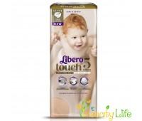 Дышащие детские подгузники Libero Touch 5 (10-14 кг), 44 шт