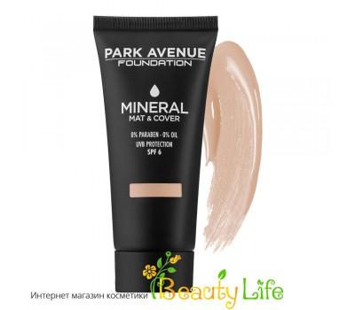 Park Avenue Основа под макияж минеральная Mineral & Mat Foundation