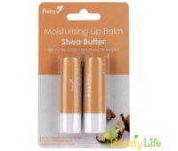 Pretty Moisturising Бальзам для губ Shea Butter 2 шт