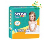 Подгузник «SENSO baby Ecoline» JUNIOR (5)  11-25 кг  32 шт