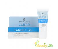 Skin Academy Локальный гель для проблемной кожи лица Target Ge
