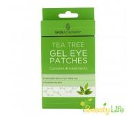 Skin Academy Патчи под глаза гелевые Tea Tree  4 пары